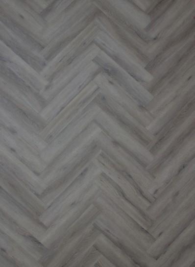 PVC vloer visgraat grijs trend