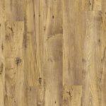 PVC vloer vintage hout trap